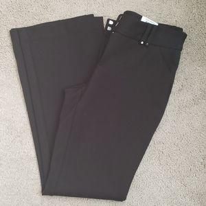 Black ponte pants Alfani